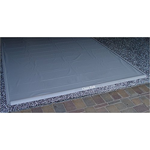 Auto Care Products 70718 Clean Park 7.5' x 18' Heavy Duty Garage Mat with 50-mil Vinyl Sheeting by Auto Care Products Inc. (Image #1)