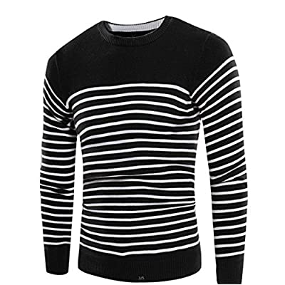 Cheap RENXINGLI Cozy Men O-Neck Knit Warm Pullover Pull homme jersey Plus size Polo Sweater for cheap