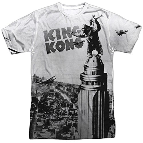 Breaking Loose -- King Kong All-Over Front Print Sports Fabric T-Shirt, Medium