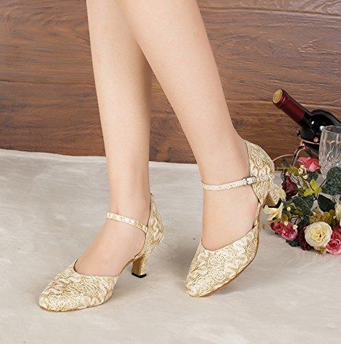 Minitoo Minitoo Gold Damen Tanzschuhe Gold Tanzschuhe Minitoo Damen Damen Tanzschuhe zYfqYxHr