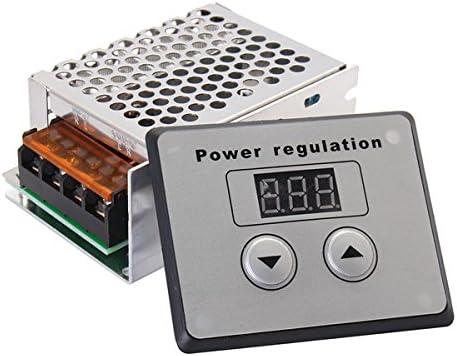 EsportsMJJ Ac 220V 4000W Scr Regulador De Voltaje Dimmer Motor ...