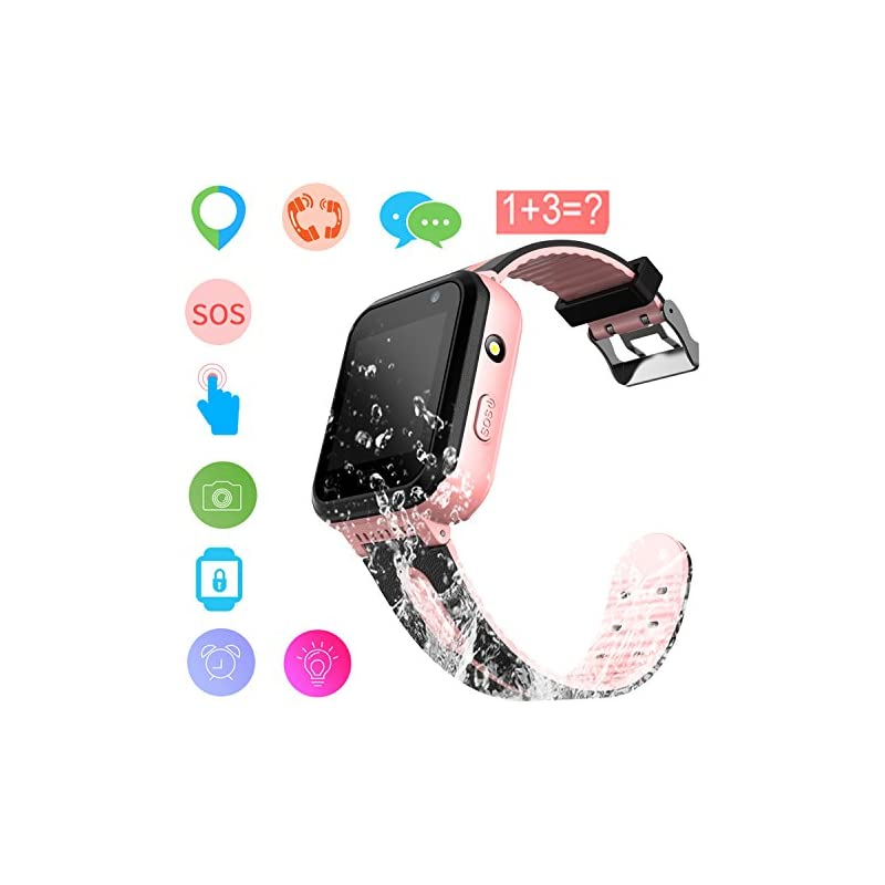 Kids Smart Watch GPS Tracker Waterproof