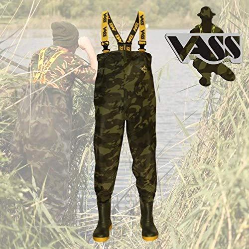 Vass-Tex 800 Camouflage Chest Wader
