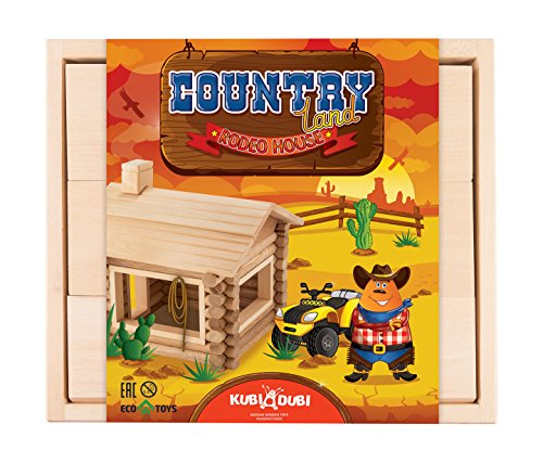 KUBI DUBI Farm Toys for Toddlers - Will Puzzle Children Age of 3,4,5 and Up. Learning Wooden Blocks Develop Stem, Creativity for Kids.