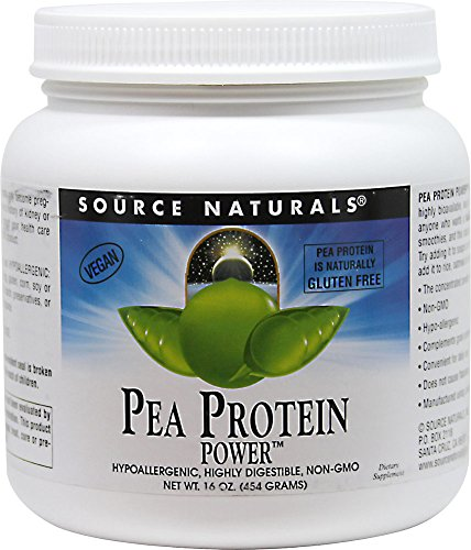 Source Naturals Pea Protein Power-1 lb Powder by Source Naturals