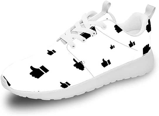 Mesllings Zapatillas de Running Unisex con diseño de Gestos increíbles, Ligeras, para Deportes al Aire Libre: Amazon.es: Zapatos y complementos