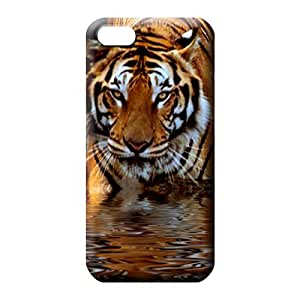 iphone 5c Eco Package Anti-scratch colorful phone carrying cases tiger