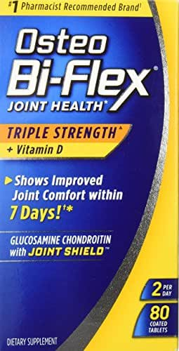 Osteo Bi-Flex Triple Strength + Vitamin D, Coated Tablets 80 ea
