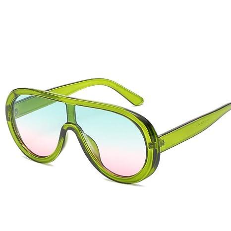 Yangjing-hl Gafas de Sol Montura Grande Gafas de Sol ...