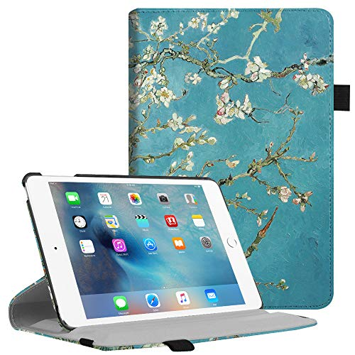 Fintie iPad Mini 4 Case - Multiple Angles Stand Case with Smart Cover Auto Sleep/Wake Feature for Apple iPad Mini 4 (2015 Release), Blossom