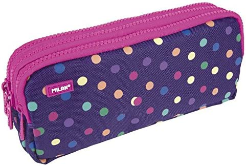 Milan 081135DT Dots Estuches, 22 cm, Multicolor: Amazon.es: Equipaje