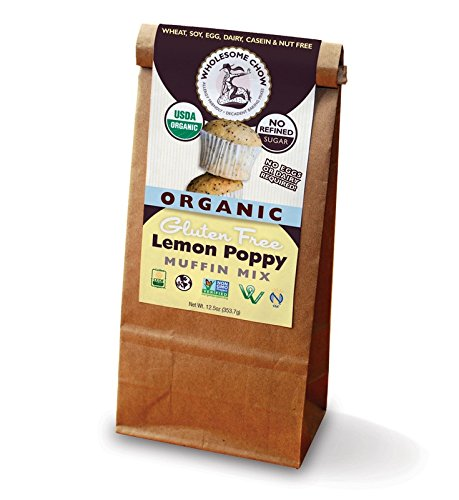 Organic Muffin Mix (Wholesome Chow Organic Gluten Free Muffin Mix Lemon Poppy -- 12.5 oz)