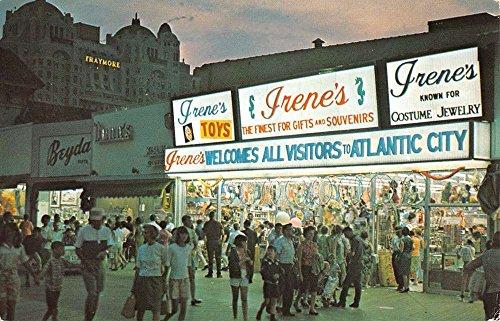 Atlantic City New Jersey Gift Shop Entrance Vintage Postcard - City Atlantic Shops