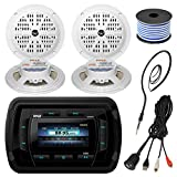 Best Pyle Car Door Speakers - Pyle PATVR14 MP3 MP5 Bluetooth Marine Boat Stereo Review