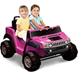 hummer 12v - Kid Motorz Two-Seater Hummer H2 Girls\' 12-Volt B