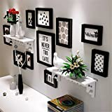 Solid Wood Photo Frame Photo Wall Decoration Photo frame Hanging wall Combination