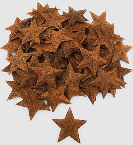(AMELI Rustic Metal Stars (2.25) for Country and Rustic Decoration (Pack of 100))