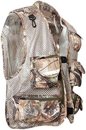 Perfeclan 釣りベスト フィッシングジャケット 着脱可能 折り畳み 登山チョッキ 撮影ジャケット 全4サイズ