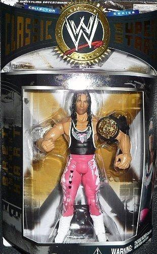 WWE Classic Superstars Series 1 Bret The Hitman Hart Figure Jakks