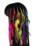 Best Hair Extensions - Set of 6 Handmade Boho Hippie Hair Extensions Review