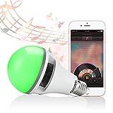 Texsens App Controlled Light Bulb Speaker