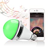 Texsens App Controlled Light Bulb Speaker
