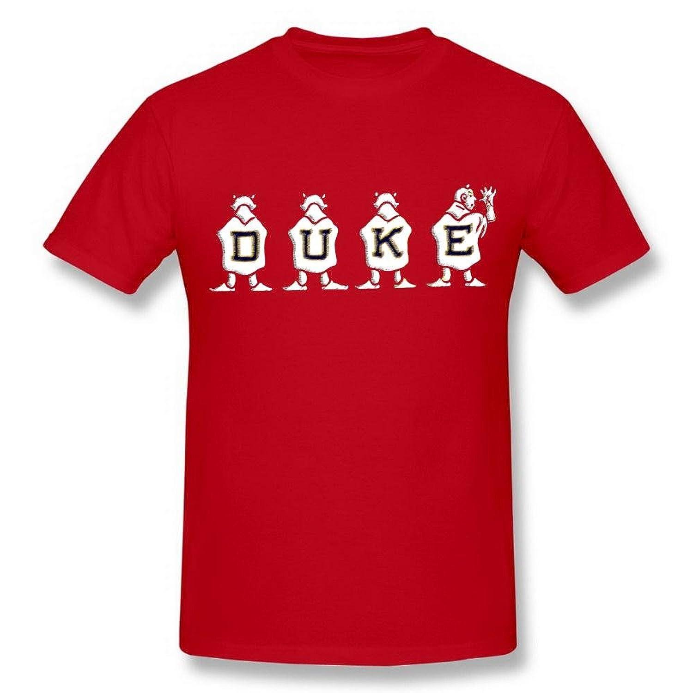 iDesign Art Men's Duke University Blue Devils Basketball Black T shirt