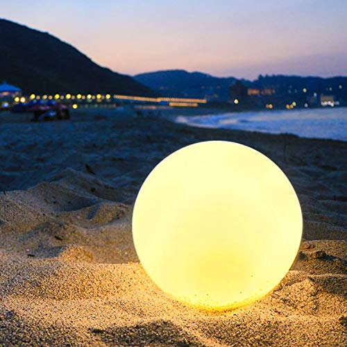 Light Up Beach Ball With Color Changing Led Lights