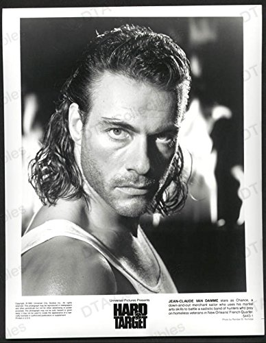 hard-target-8x10-bw-photo-jean-claude-vandamme-closeup-fn