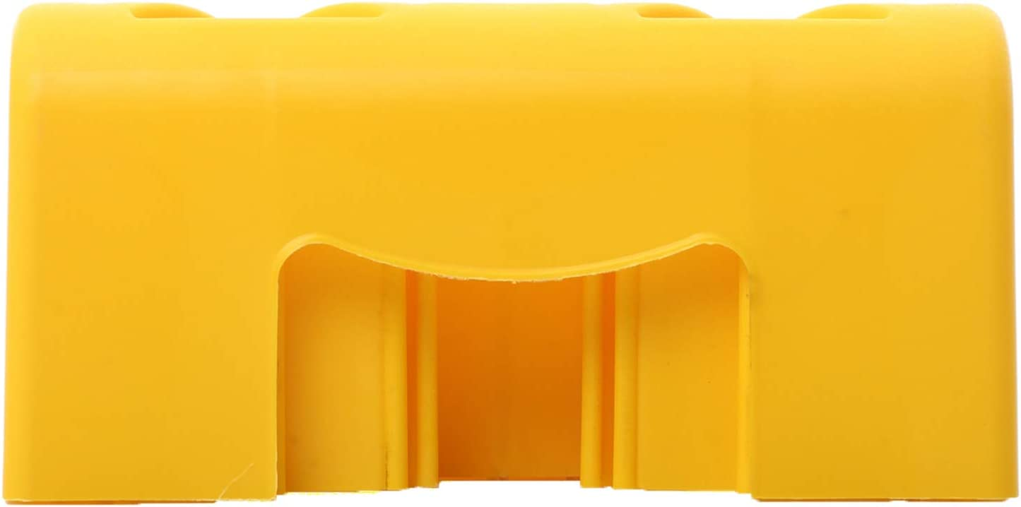 Homeon Wheels Two Top Tire Wheel Chock Use with Yellow WH101//102//201//202//203//204