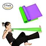 garment fit band - Osa Exercise Band, Long Resistance bands, Sport Yoga Elastic Bands Natural Latex Elastic Exercise Equipment for Physical Therapy, Pilates, Stretch, Yoga, Strength Training Workout.