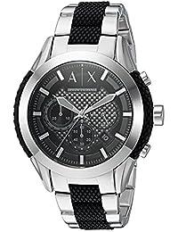 Armani AX1214 Exchange Reloj analógico con movimiento de cuarzo, 2 tonos, para hombre