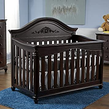 Pali Gardena Collection Forever Crib In Mocacchino