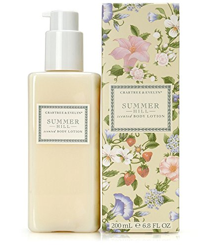 Crabtree & Evelyn Scented Body Lotion, Summer Hill, 6.8 fl.