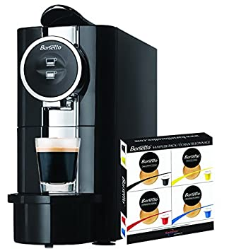 Barsetto Espresso Machine with 20 capsule sampler pack