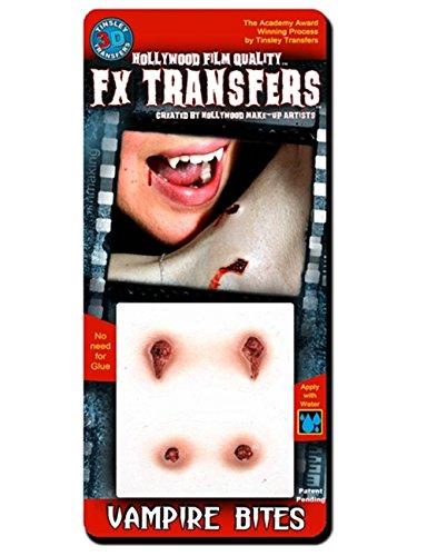 Tinsley Transfers  Vampire Bites, Flesh/Multi, One Size ()