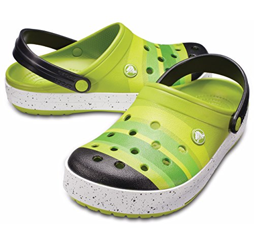 Crocs Unisex Crocband Farge Skur Tette Gressgrønn / Svart