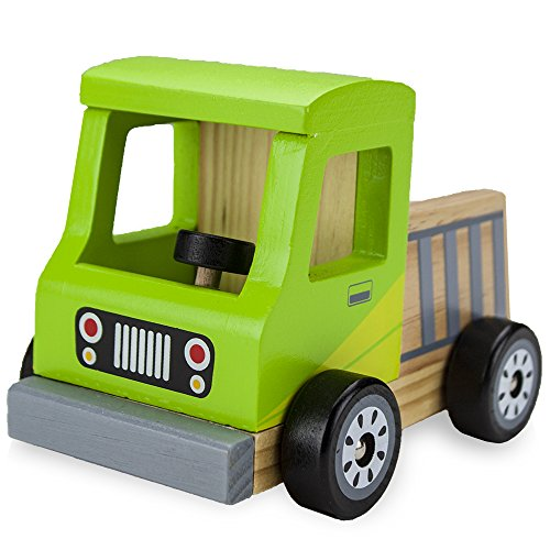 Wooden Wheels Natural Beech Wood Pickup Truck by Imagination Generation