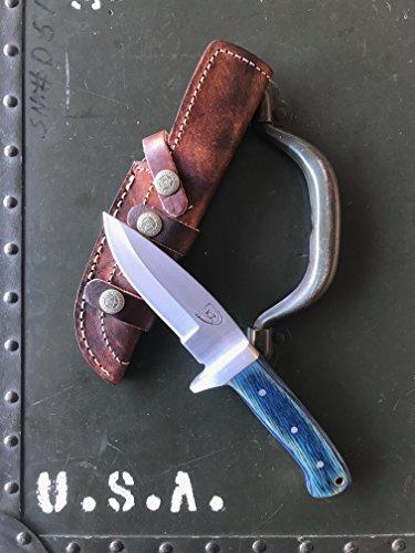 KUZACH Knives LLC 440c Stainless Steel Drop Point EDC Skinner Knife by KUZACH Knives LLC