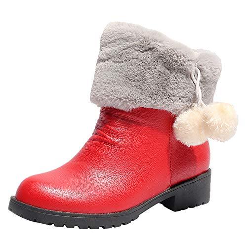Caldo Antiscivolo Inverno Scarpe Stivali Tacco Da Red Per Moda Donna Con  Neve Capelli Elegante stivaletti Bd1dqwp 98f4c7e0c8a