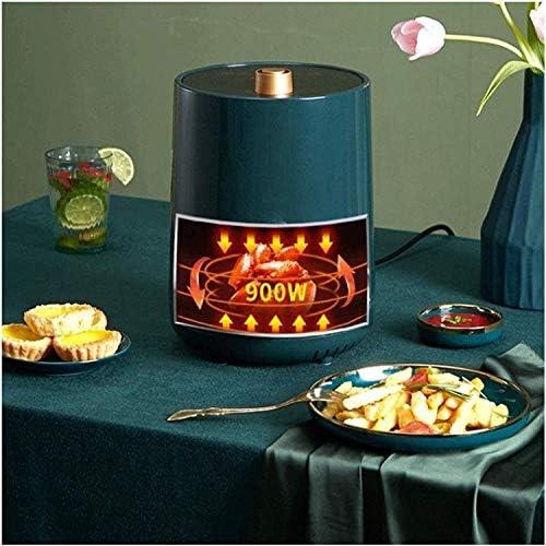 Fryer Mini Air Compact Four Cuisinière, Grande automatique Faible capacité d'huile Air Friteuse électrique à un usage domestique, antiadhésive Ba GDSZMMLS