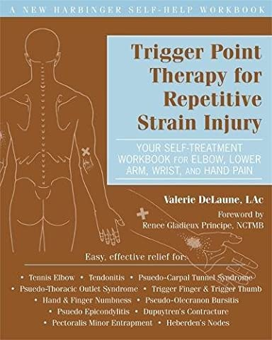 Trigger Point Therapy for Repetitive Strain Injury: Your Self-Treatment Workbook for Elbow, Lower Arm, Wrist, & Hand Pain (New Harbinger Self-Help (Trigger Point Therapy Hand)