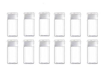 loci/ón vac/ía Crema para cosm/éticos Botella vac/ía de pl/ástico para Viaje 5 Unidades