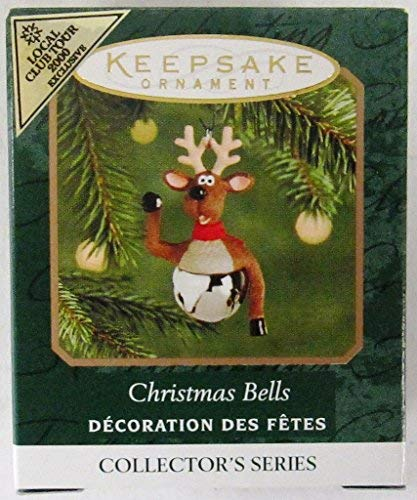 Hallmark Keepsake Ornament Christmas Bells 2000 QXM5964