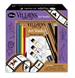 Disney Villains Art Studio [With Palette and Pens/Pencils and Paint Brush and Watercolor Paint and Eraser and Sharpener and Ma (2014-03-01)