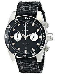 Electric Men's EW0070020016 DW02 Nato Band Analog Display Japanese Quartz Black Watch