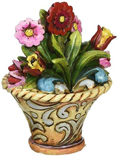 Enesco Jim Shore Heartwood Creek Mini Flower Figurne, - Jim Whitehall