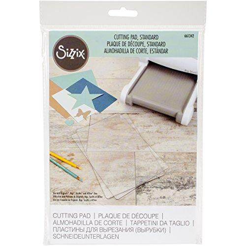 Sizzix 661342 Accessory Cutting Pad, Standard (Big Shot Machine Best Price)