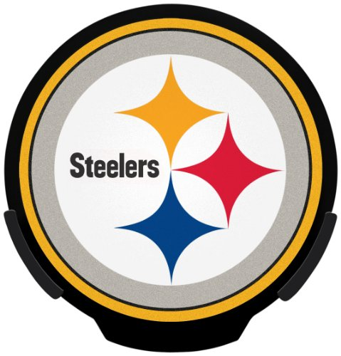 Nfl Logo Edge Light - NFL Pittsburgh Steelers Power Decal