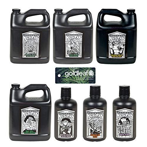 Nectar for The Gods Complete Nutrient Kit The Spartan Regimen Gallon Size -